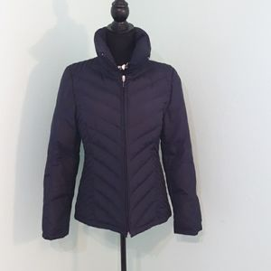 Kenneth Cole navy down puffer coat